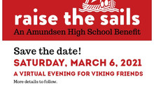 Save the date! Raise the Sails March 6, 2021