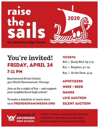 Raise the Sails 2020: Buy Your Tickets Now!