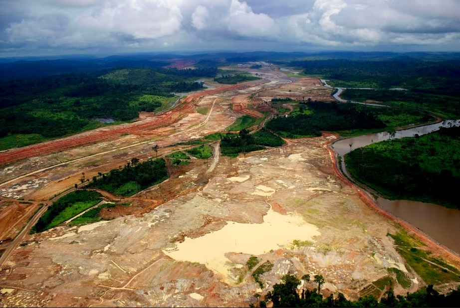 Belo Monte Construction in the Xingu