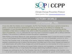 SQP CCPP Court proceedings. Trials.