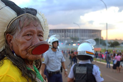 the faces of the Amazon