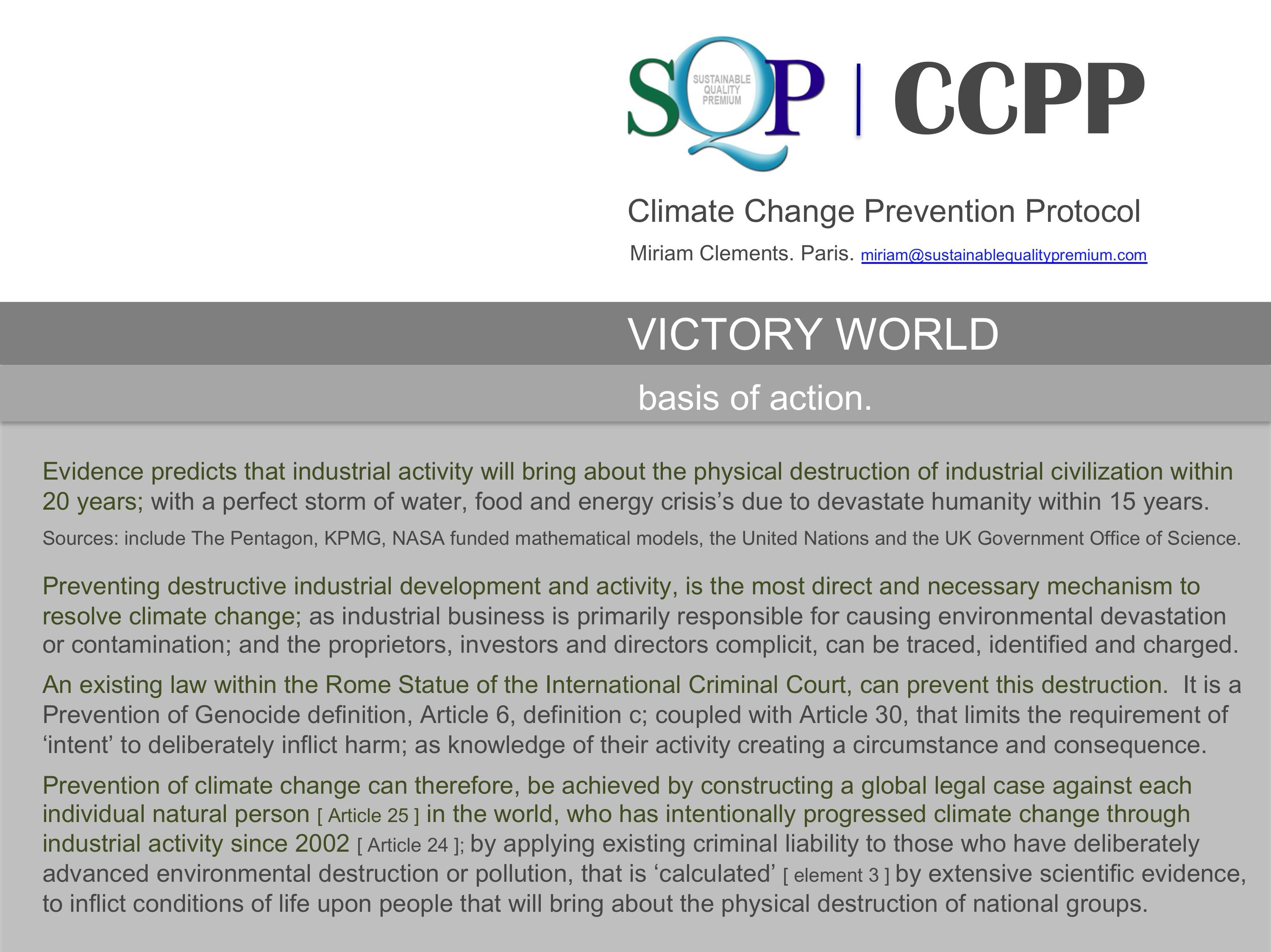 SQP CCPP Basis of Action.