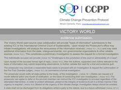SQP CCPP evidence submission.