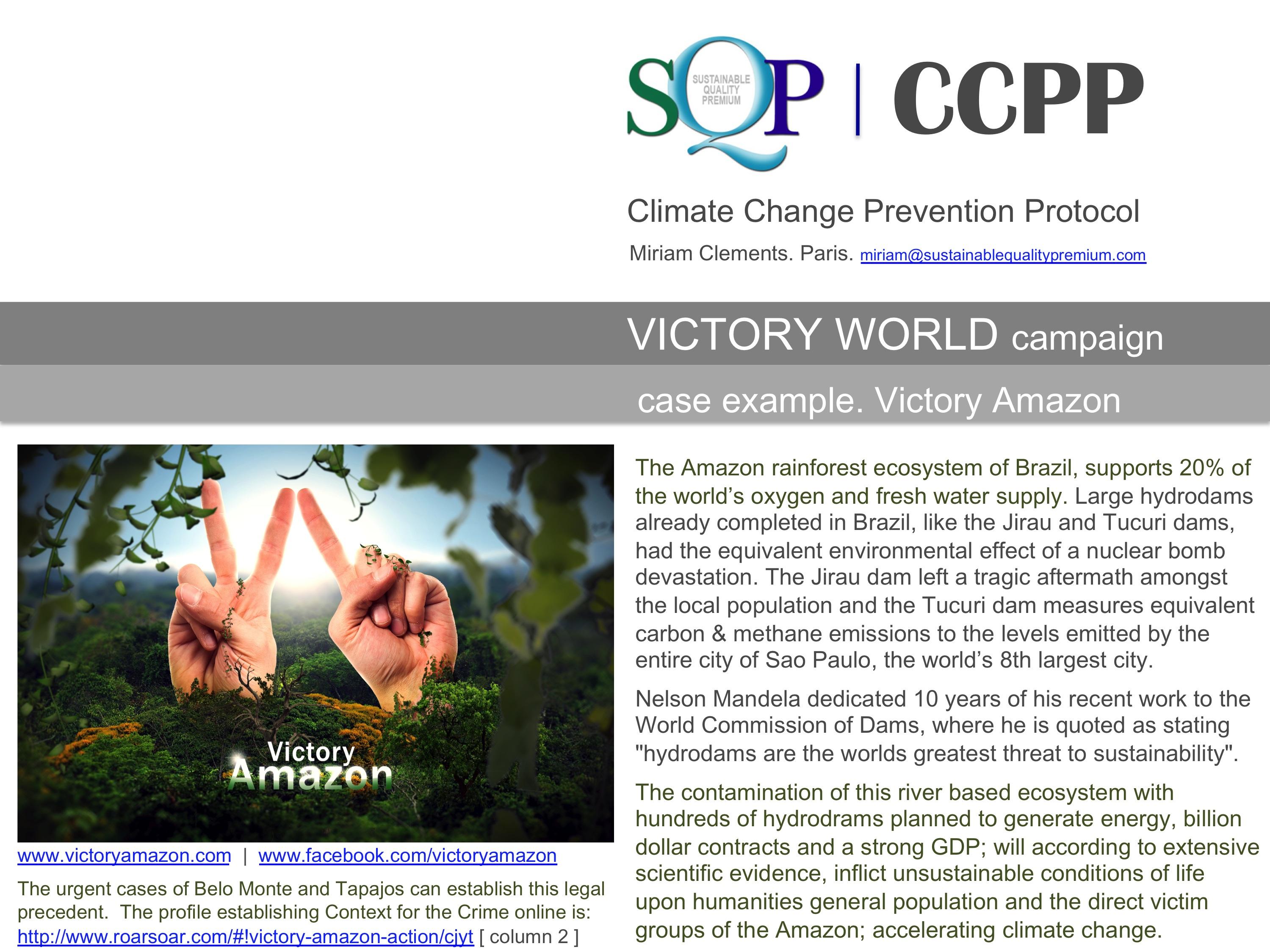 SQP CCPP case: Victory Amazon