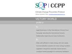 Climate Change Prevention Protocol.