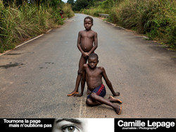 A society suffering. Central Africa
