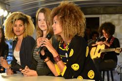 Cathie, Miriam, Tiga TV Interview