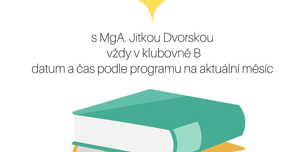 Čtenářský klub s herečkou Vendulou Fialovou