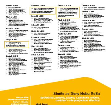 Program leden 2019
