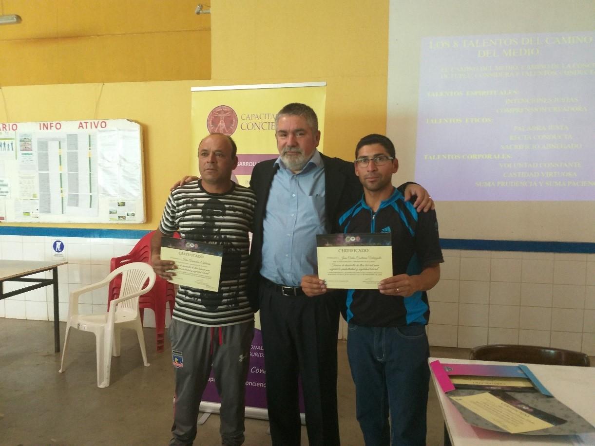 Ivan Arancibia y Juan Contreras