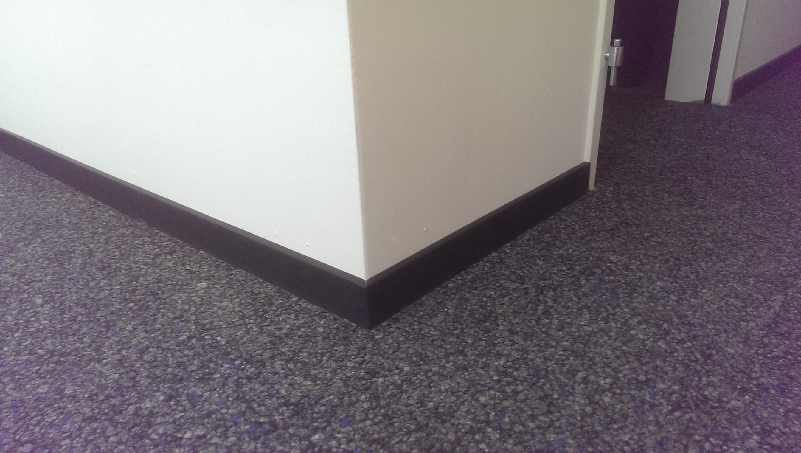 Hart PVC M5 RAL 7021, 60/12 mm
