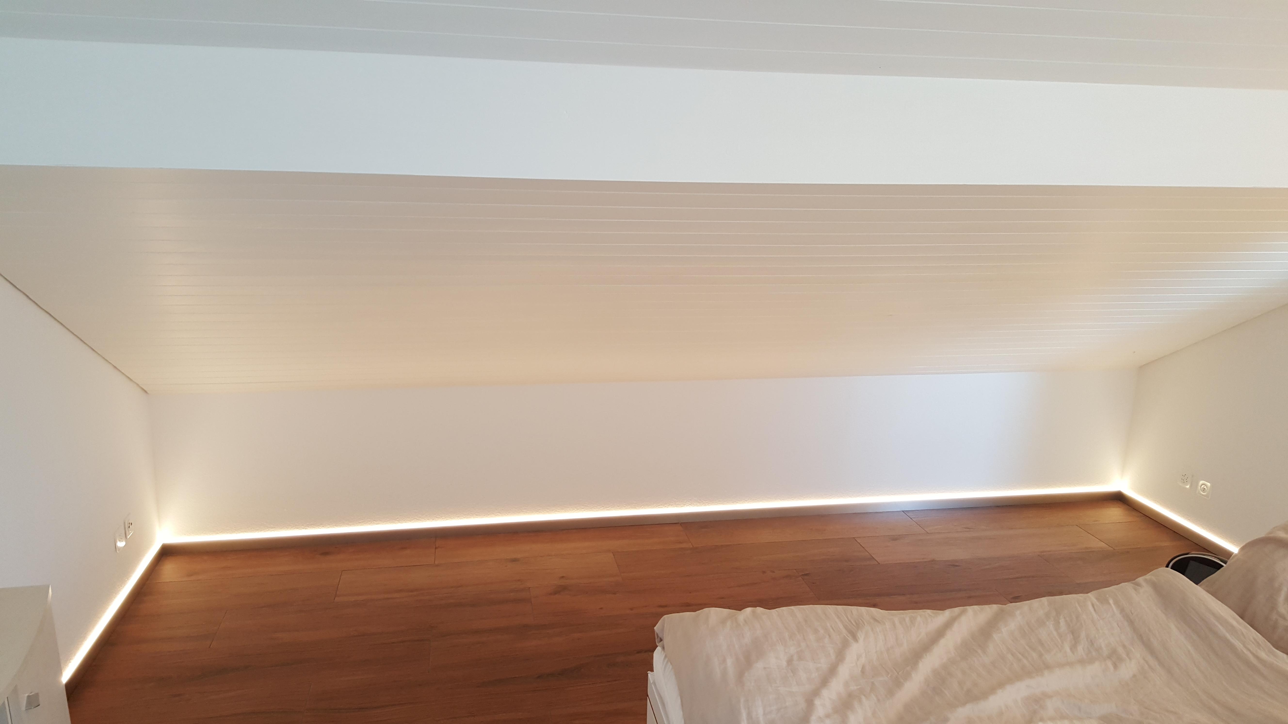 Alu Nox LED indirekt 60/12 mm