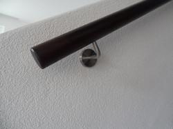 Eiche geräuchert Rundhandlauf 50 mm