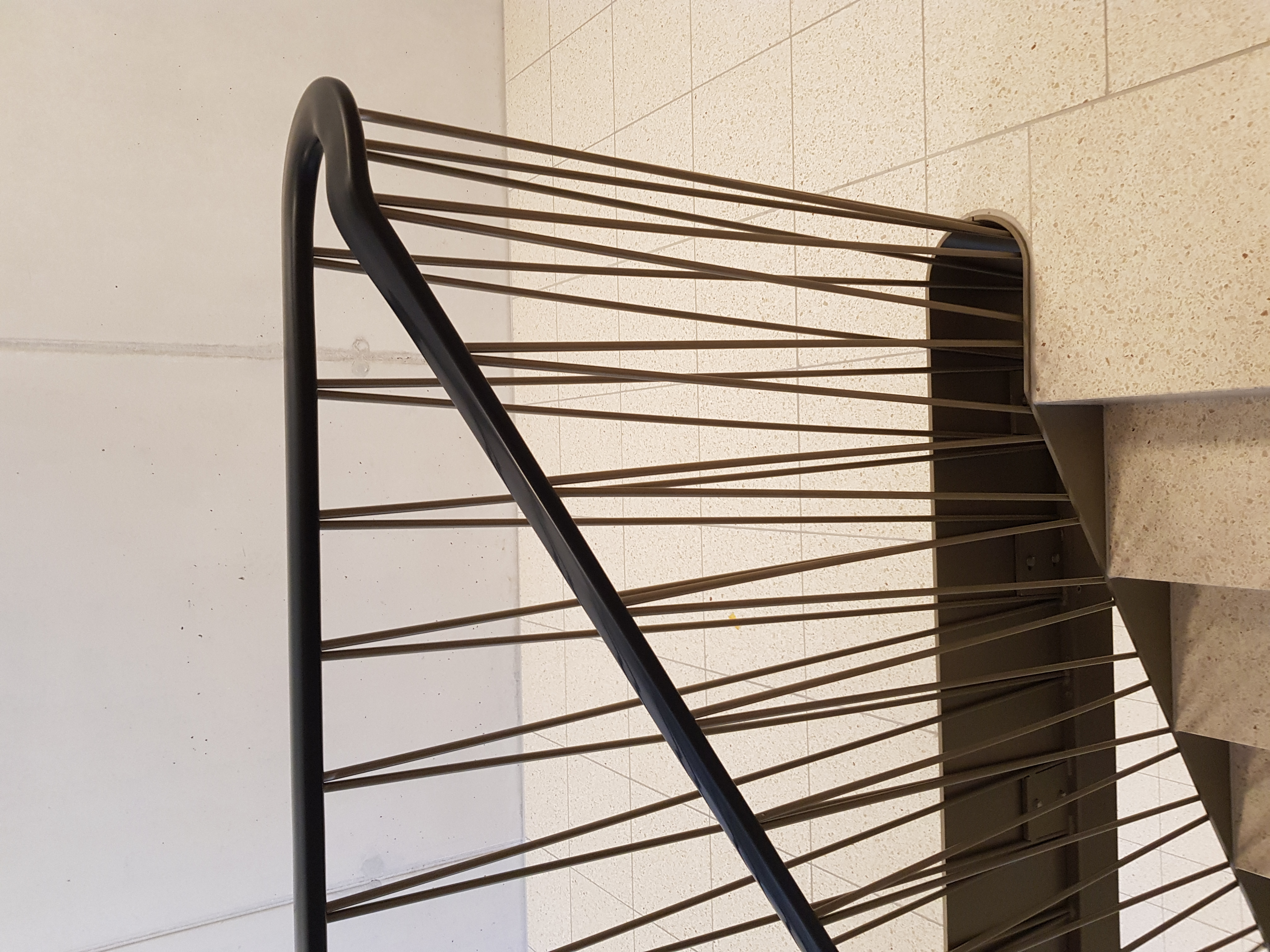 Weich PVC Handlauf schwarz