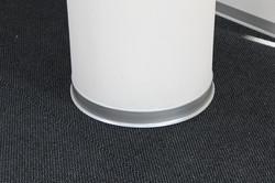 Alu gebeizt mit Fuss 60/2 mm