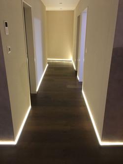 Alu Nox LED indirekt 40/12 mm