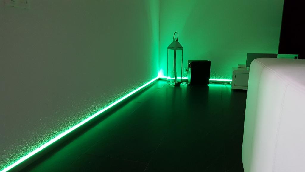 Alu Nox LED indirekt 40/12