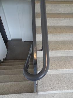 PVC Handlauf antrazith rund 45 mm