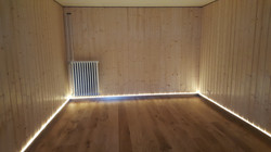 Alu Nox LED indirekt 80/12 mm