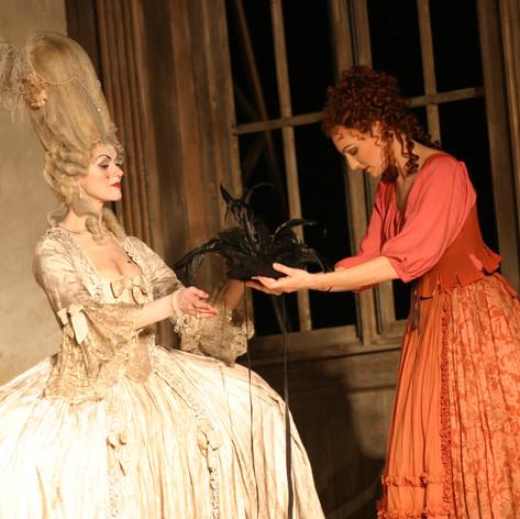 Mozart: Hochzeit des Figaro - Mädchen