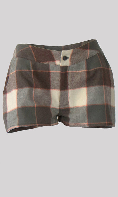 Nalini Flannel Shorts