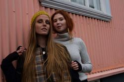 Solin jacket and Elin turtleneck