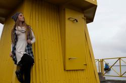Leyla dress and Hekla vest