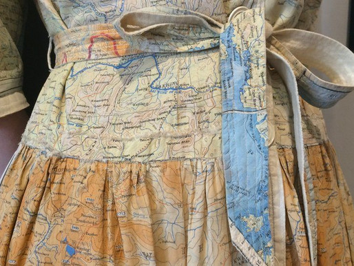 Fashion History: Map Prints