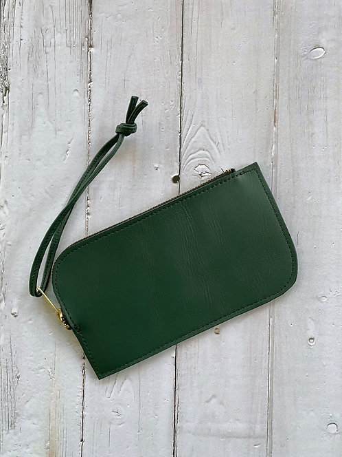 Contour Leather Clutch from Directive Made