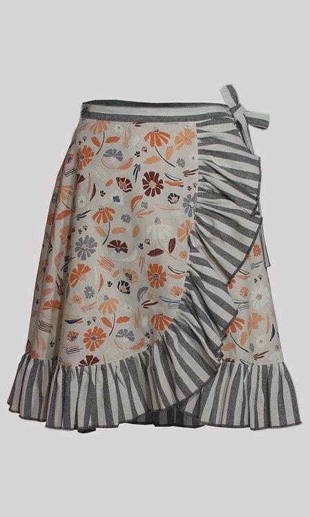 Nedra Wrap Skirt