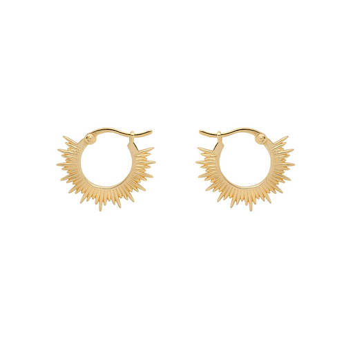 OORBELLEN ANNA+NINA RISING SUN RING EARRINGS