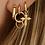 Thumbnail: OORBELLEN ANNA+NINA MULTI EDEN RING EARRING