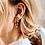 Thumbnail: OORBELLEN ANNA+NINA EDEN HOOP EARRING