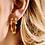 Thumbnail: OORBELLEN ANNA+NINA EDEN RING EARRING