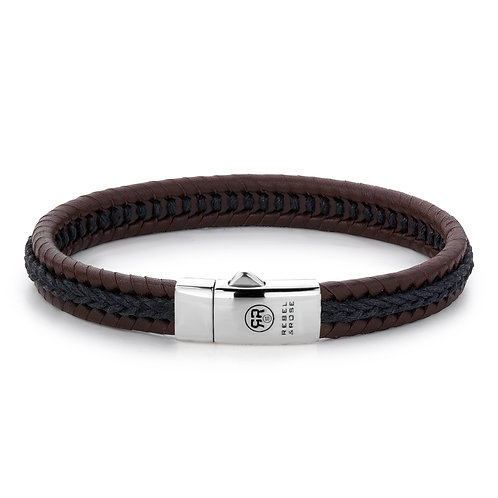 ARMBAND R&R DUAL TWISTED BLACK - EARTH