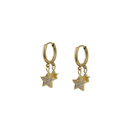 OORBELLEN SPARKLE STARS