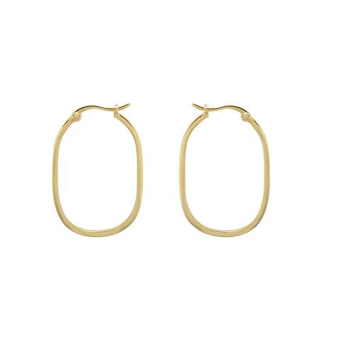 OORBELLEN ANNA+NINA LINK HOOP EARRINGS