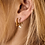 Thumbnail: OORBELLEN ANNA+NINA FLAME EARRING