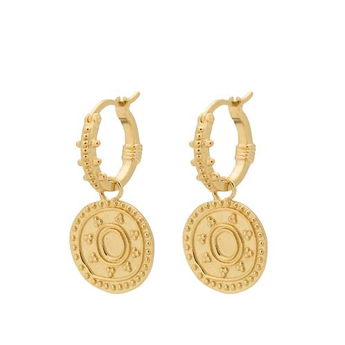 OORBELLEN ANNA+NINA CLEOPATRA RING EARRINGS