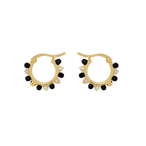 OORBELLEN ANNA+NINA SAHARA RING EARRINGS