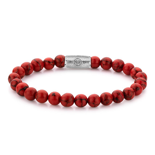 ARMBAND R&R RED DELIGHT - 8 MM