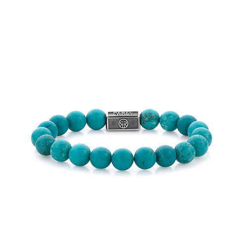 ARMBAND R&R TURQUOISE DELIGHT 925 - 8MM
