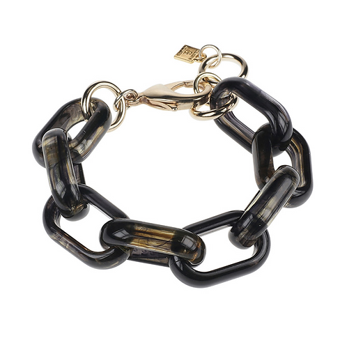 ARMBAND CAMPS & CAMPS OVAL LINK OILY BLACK