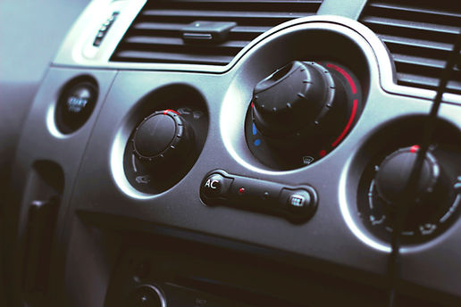 car aircondition buttons dashboard