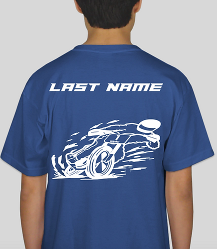 WVR Kids T-Shirt with Last Name