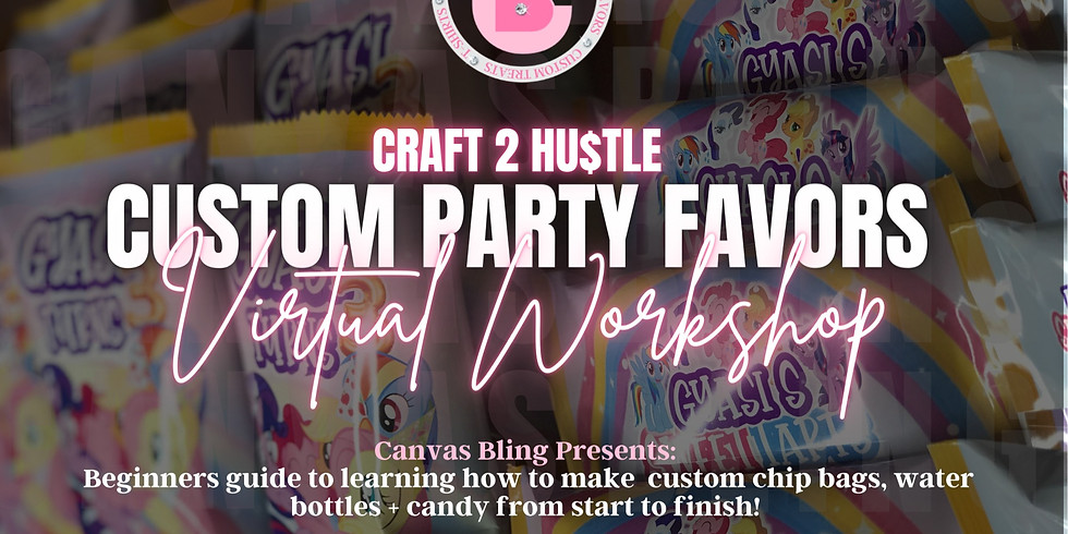 Party Favors Workshop (Virtual)