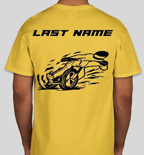 WVR T-Shirt with Last Name