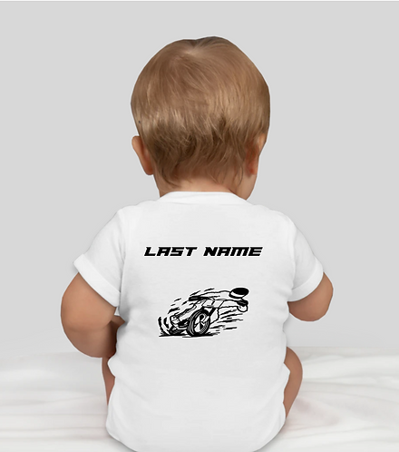 WVR Onesie with Last Name on Back