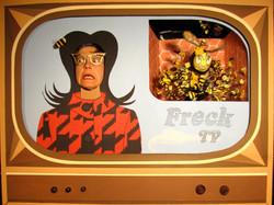 QUEEN BEE ON FRECK TV