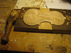 shaping the back